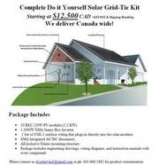 Complete Do it Yourself Solar Grid-Tie Kit Starting