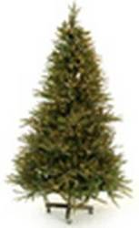 Artificial Classic Spruce Full Christmas Tree with Clear Lights