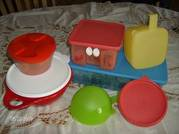 New Tupperware for Sale! You can book a party and receive $75. Gift