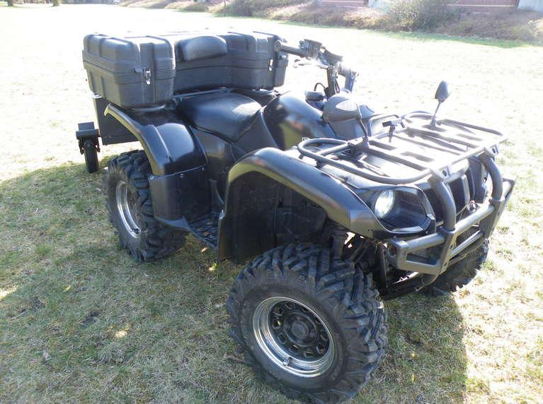 2004 yamaha grizzly 660 atv quad calgary motorcycles for Yamaha atv for sale used