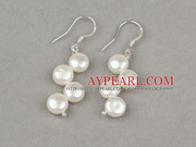 New Design 7-8mm Mabe Pearl Bridal Earrings