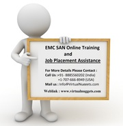 Best Corporate Online Training on EMC SAN-VirtualNuggets.com