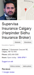 Super Visa Insurance - Harpinder Sidhu Insurance Advisor Calgary