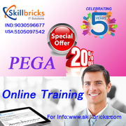Get Pega Online Training Services at SkillBricks.com