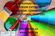 TOCON Calgary Cheap Fast Pro Painting Staining Spraying Services