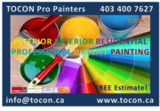 TOCON Pro Painters Calgary Home Painting Contractor. Affordable Prices