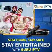 GURU IPTV: Your one-stop entertainment destination!