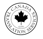 Professional Translation Services Canada